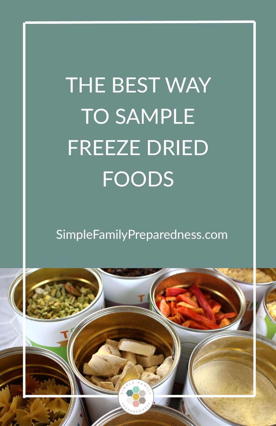 emergencydryfood Freeze drying food, Emergency
