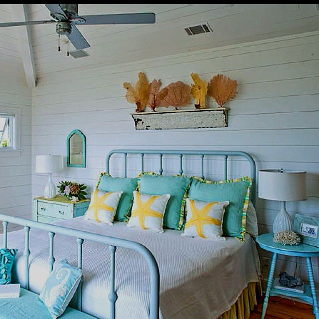 beach theme bedroom love the bed frame :) | beach house