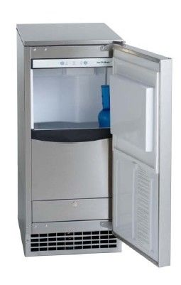 Ice O Matic Gemu090 Undercounter Pearl Ice Machine With Bin Ice Machine Commercial Ice Maker