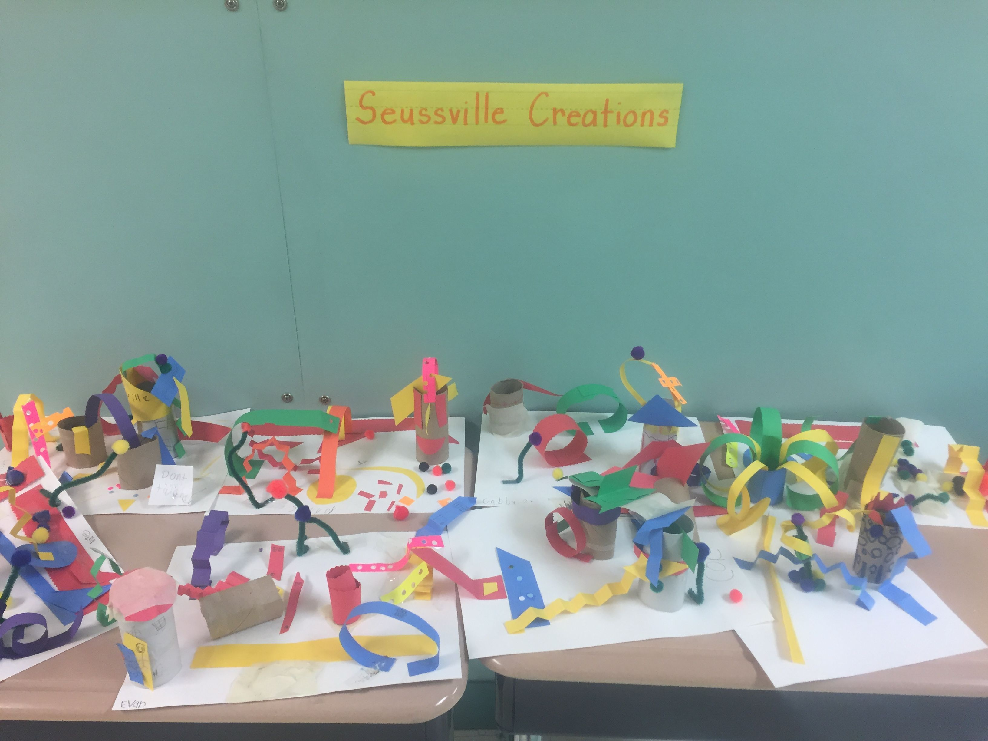 Seussville Creations With Images