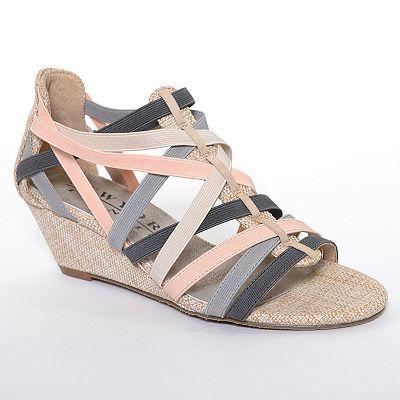 New York Transit Validation Wedge Sandals - Women