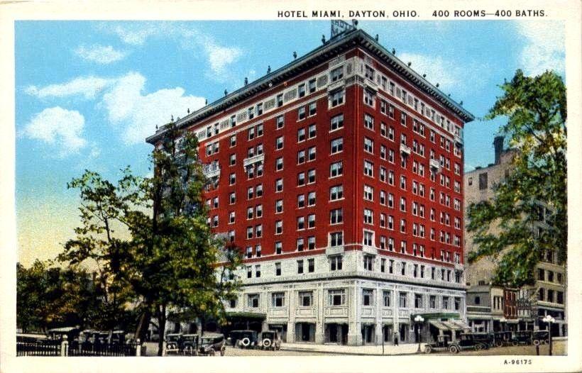 Hotel Miami Dayton Ohio 400 Rooms W Baths Dayton Ohio Ohio