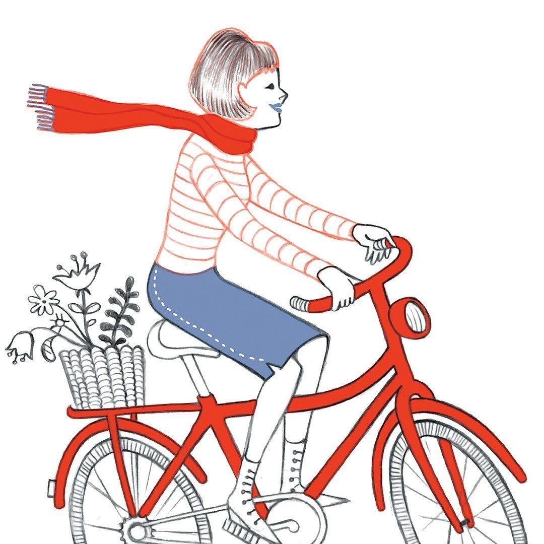 #workinprogress #process #processo #twitter #frança #bicicleta #illustration