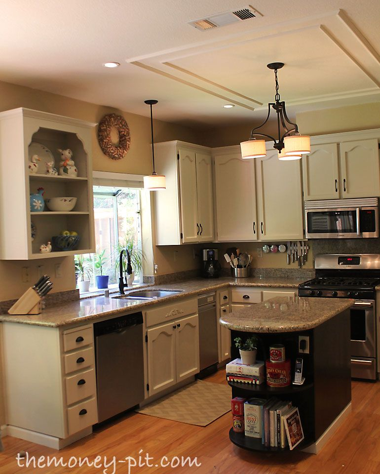 Kitchen Without Cabinets: How To Paint Your Kitchen Cabinets Without Losing Your Mind