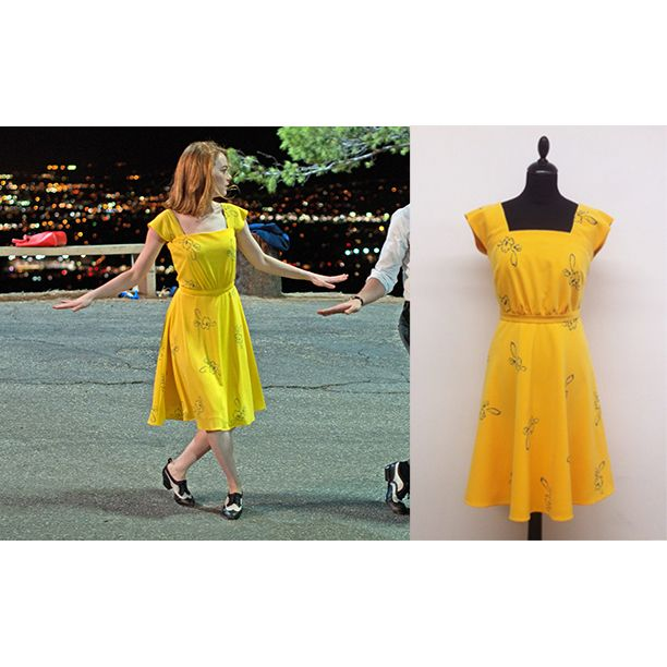 Lalaland Dress Replica Www Isabelhargoues Com Atuendo Ropa De Mujer Paño