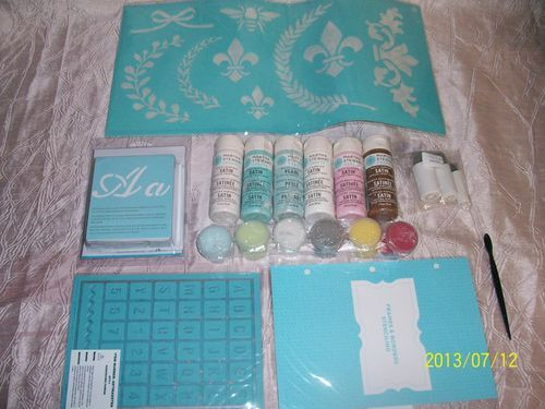 Martha Stewart Paints Frames and Borders Stencil Kit Price:US $34.99 ...