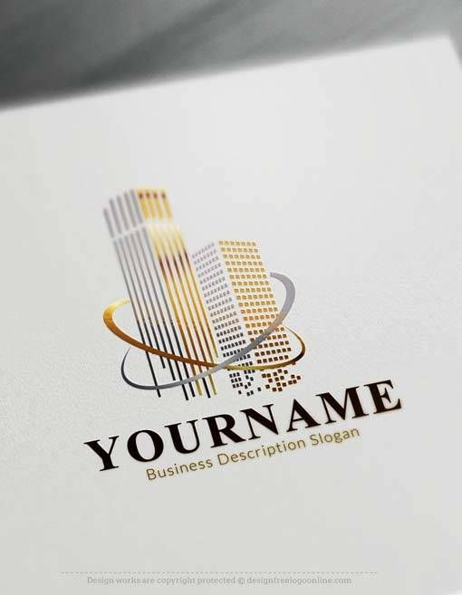 Online Logo Maker Free Luxury towers Logo Template Logo