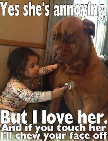 The Cutest Thing You Ll See Today 22 Kids And Their Big Dogs
