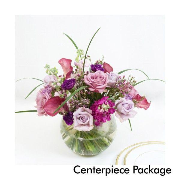 Wholesale Wedding Flower Packages: Lavender Wedding: Centerpiece Package