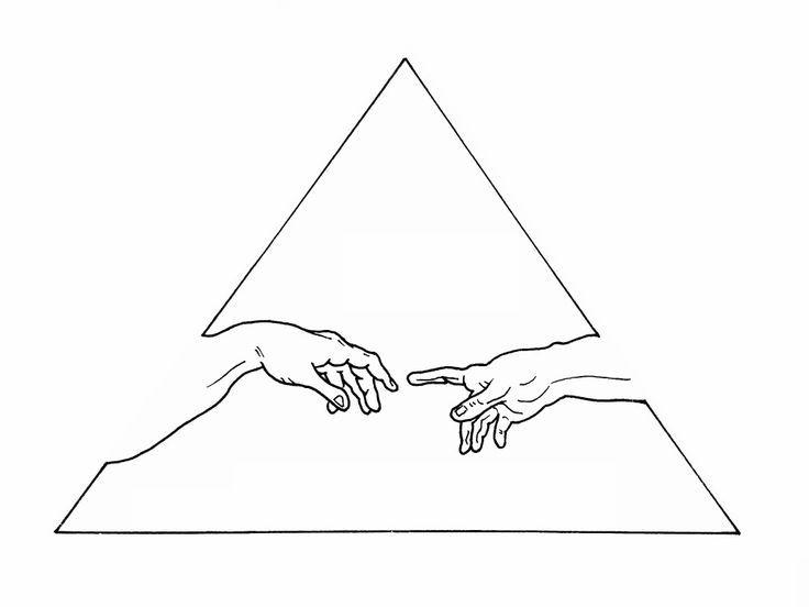 Photo of WTKE (sofia_finardi) SUR INSTAGRAM #sketching #tattoo #michelangelo #hands #creat …