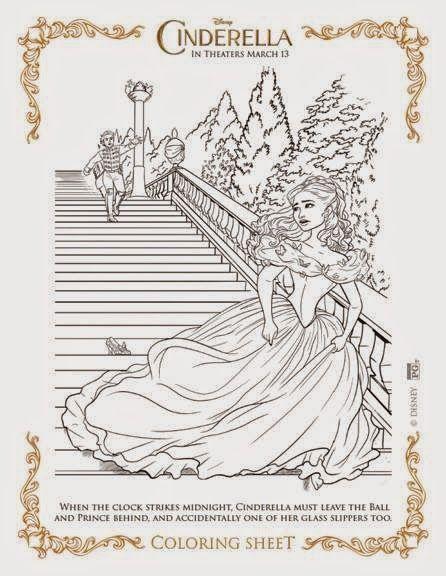 Cinderella Coloring Sheets Cinderella Coloring Pages Coloring Pages Disney Coloring Pages