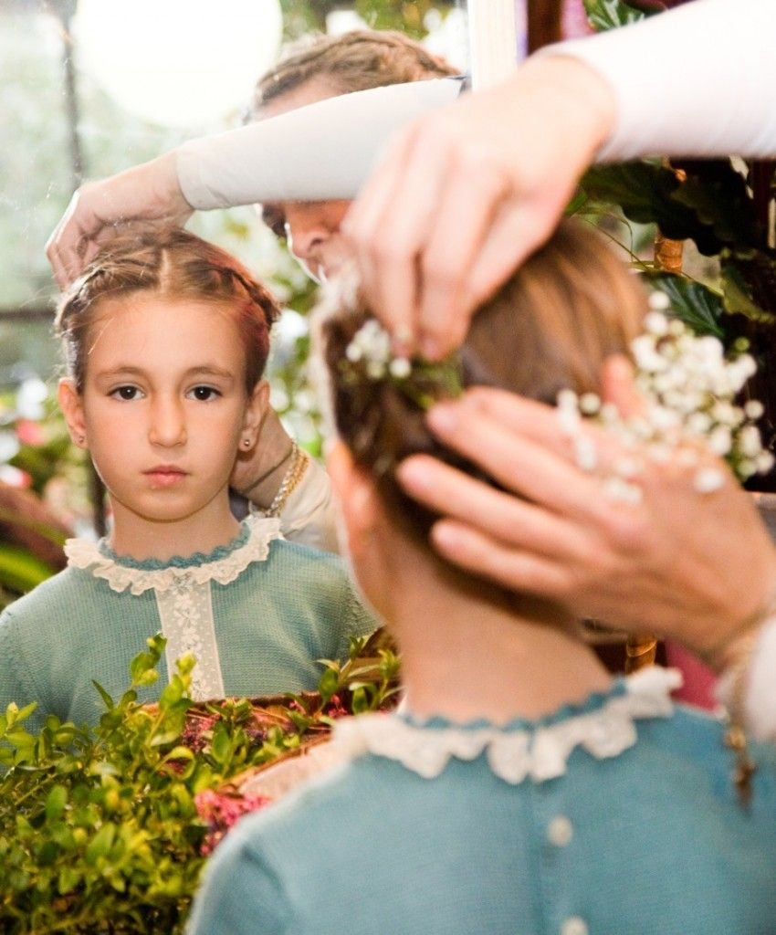 peinados nia ceremonia muy fciles