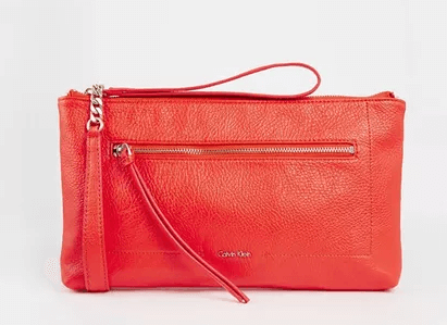 red Designer Calvin Klein handbags