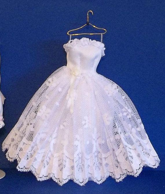 1/12 Scale Wedding Dress by MinisByMimi on Etsy