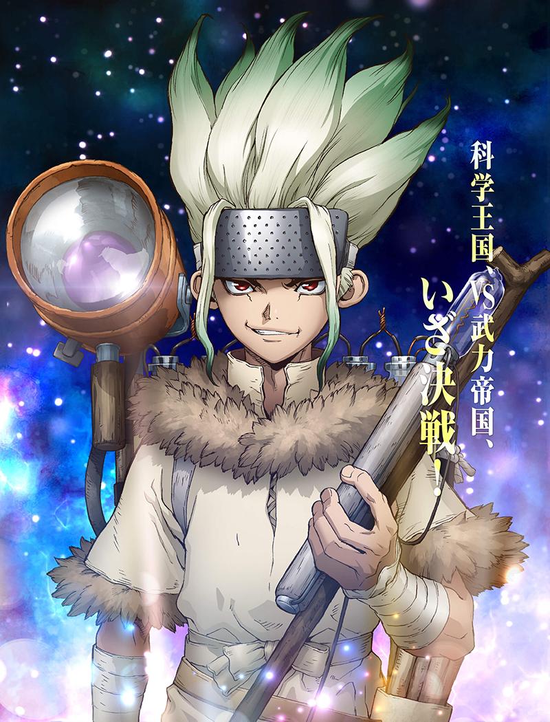 ¡Desde la web oficial ha estrenado el póster del anime Dr