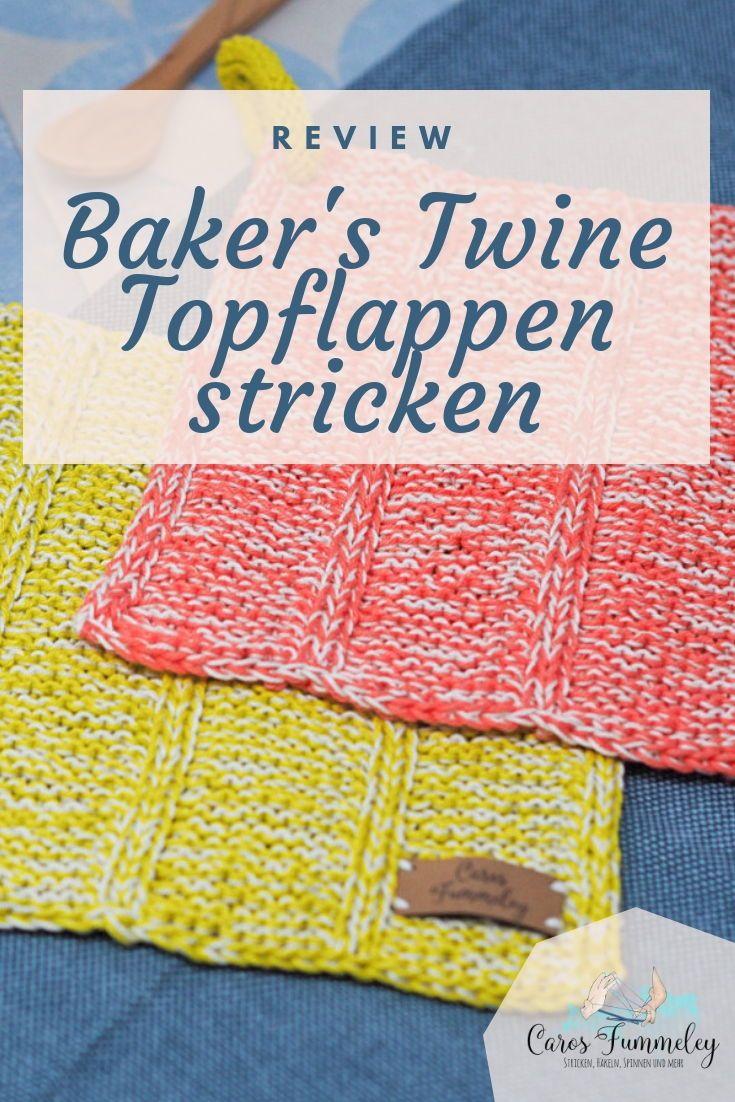 Photo of Review: Baker's Twine Topflappen von Ducathi stricken – Caros Fummeley