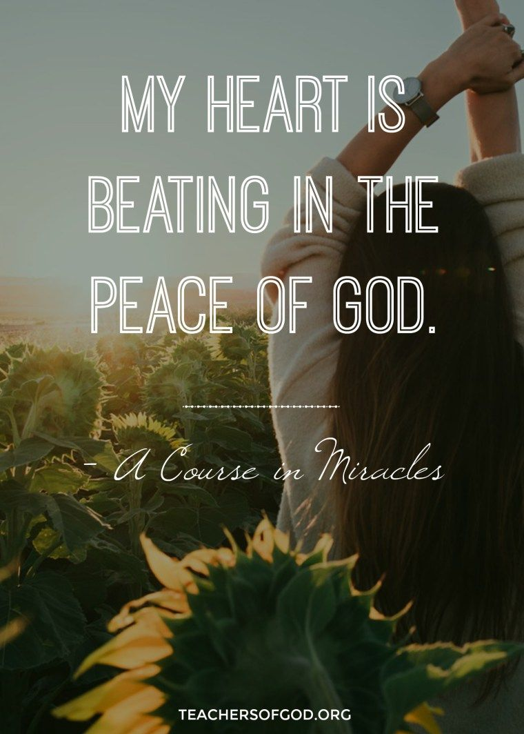 The Yoga of A Course In Miracles | Peace, Finding peace and Spiritual