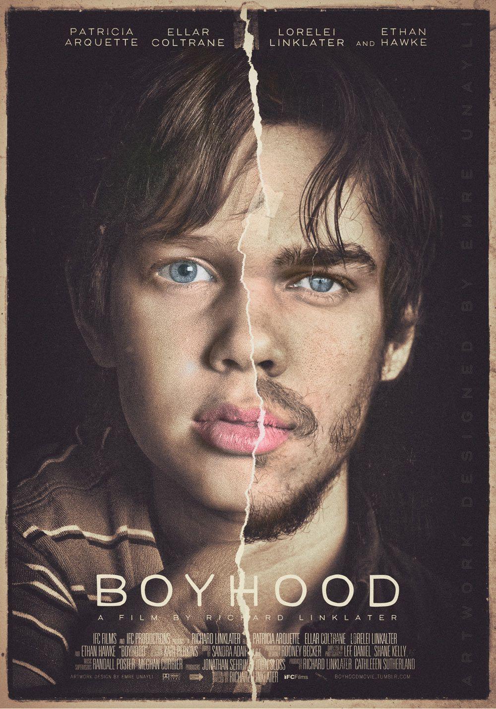 Boyhood Keyart 1 Posterspy Best Movie Posters Movie Posters Alternative Movie Posters
