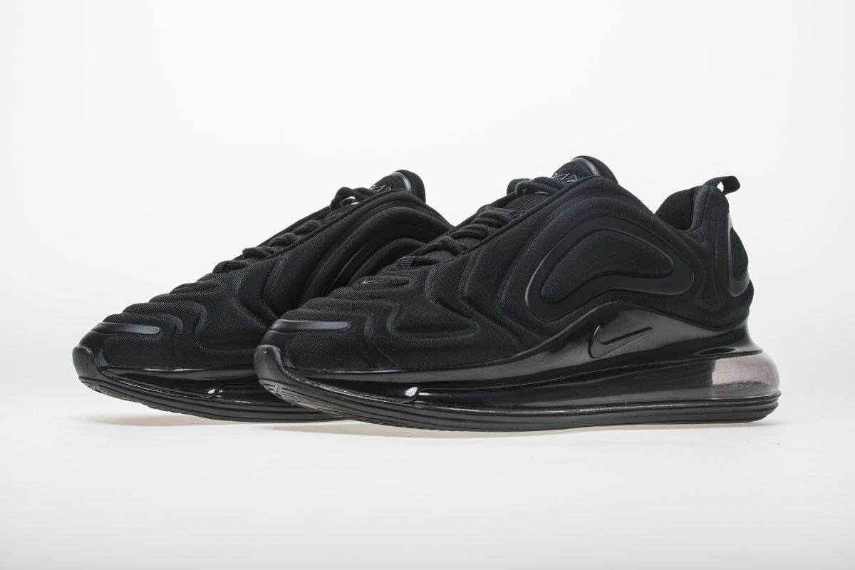 wholesale dealer bb051 2642a Nike Air Max 720 AR9293-005 All Black Shoes4
