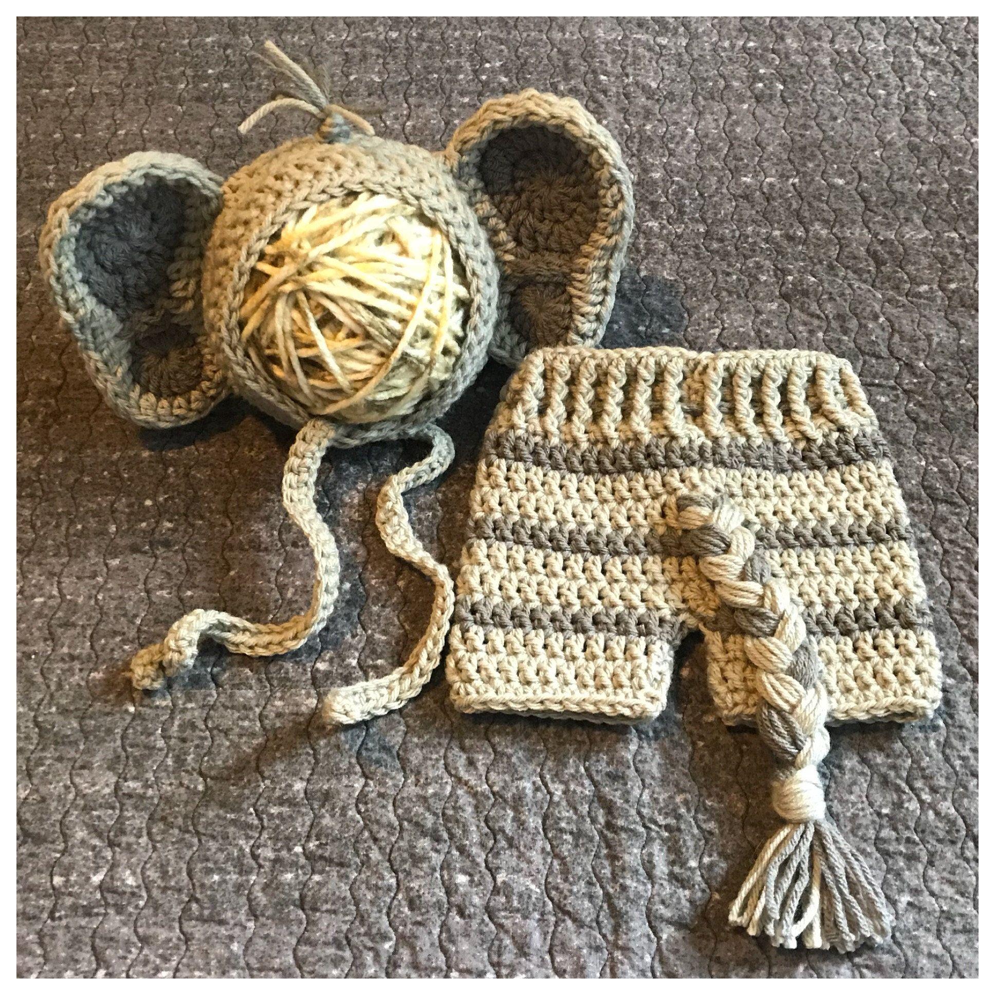 Elephant Baby Costume Crochet Elephant Costume Elephant Costume Baby Elephant Outfit Newborn Elephant Costume Elephant Baby Shower & Elephant Baby Costume Crochet Elephant Costume Elephant Costume ...