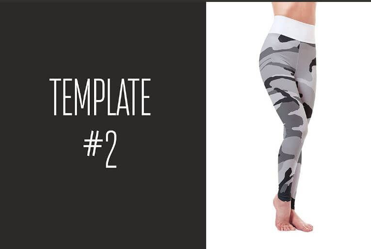 leggings mockup template and yoga pants mats mockup mockup