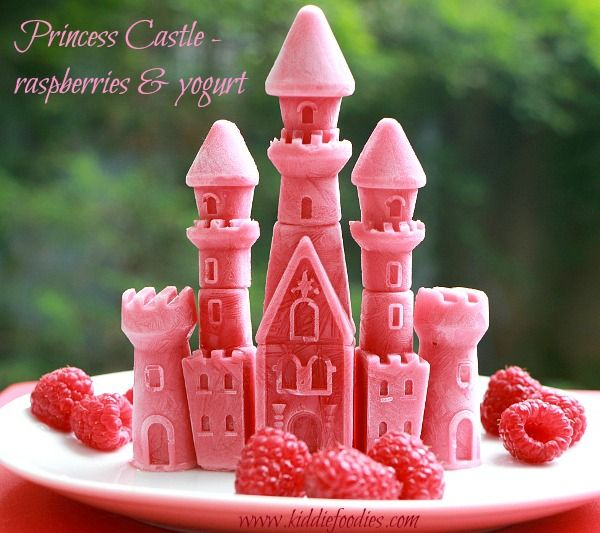 Princess Castle Frozen Raspberries And Yogurt Recipe