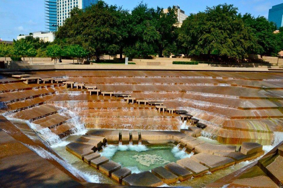 fort worth, tx Fort worth water gardens, Water garden