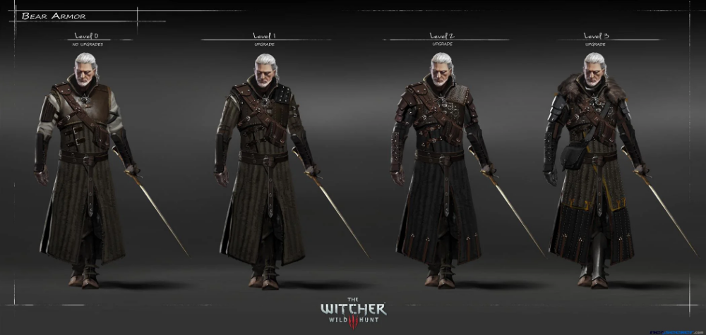 Ursine Witcher Gear The Witcher 3 Wiki Guide Ign Witcher Armor The Witcher 3 Witcher 3 Armor