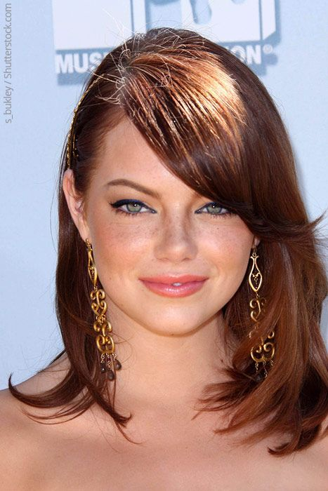 Green Eyes The Most Attractive Eye Color Emma Stone Hair Short Hair Styles For Round Faces Hair Styles
