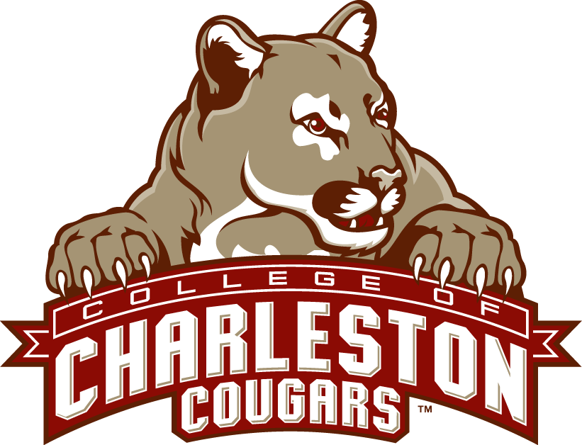 College Of Charleston Cougars Primary Logo Ncaa Division I A C College Of Charleston College Football Logos College Logo