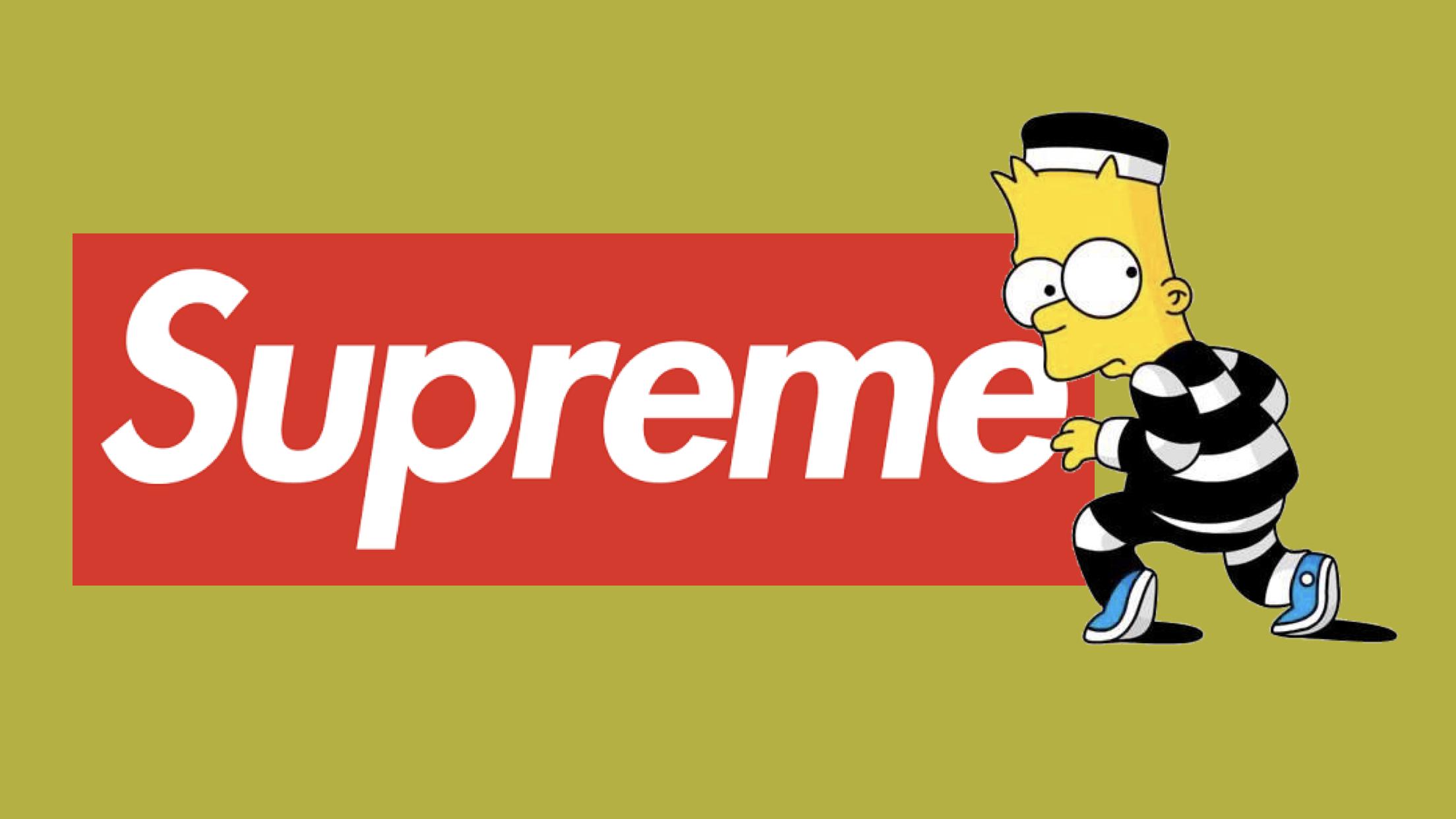 Bart Simpson Supreme Wallpaper Gif