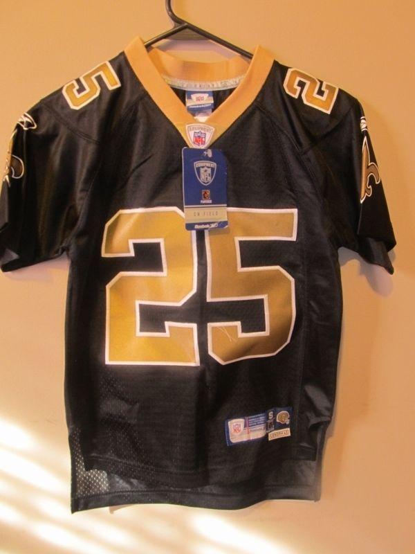 Reggie Bush - New Orleans Saints Authentic Jersey - Reebok Youth small  a6cc79ec3