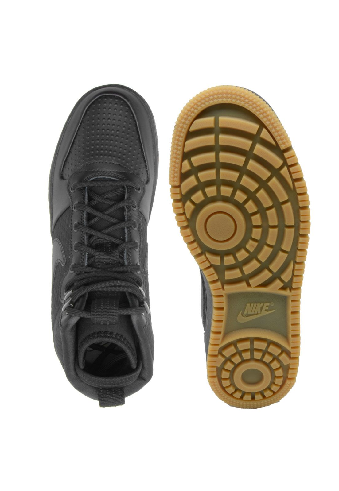 Tênis Nike Sportswear Ebernon Mid Winter Preto | Roupas