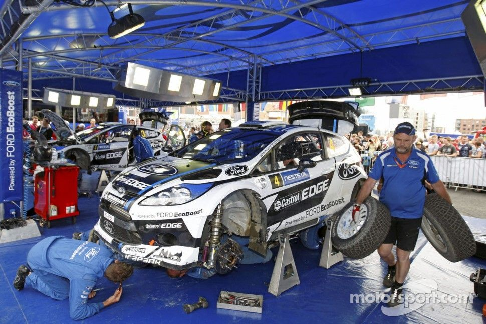 Rally Car Suspension Petter Solberg And Chris Patterson Ford