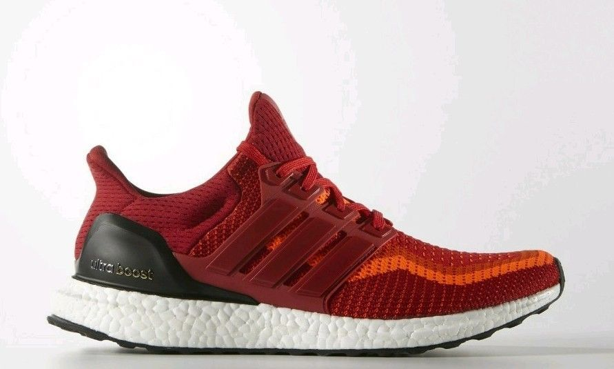 f8a88fe4e Confirmed Adidas Ultra Boost 2.0 Solar Red Gradient Size US 10.5 AQ4006   fashion  clothing