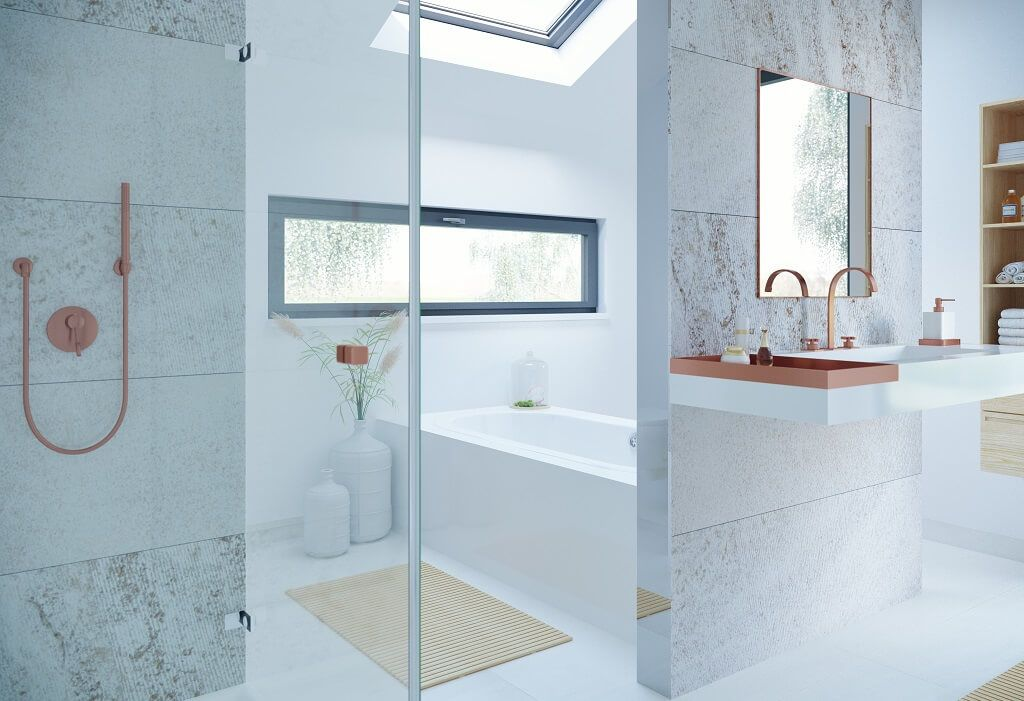 Badezimmermöbel Design ~ Design badezimmer elegant weiß inneneinrichtung haus concept m