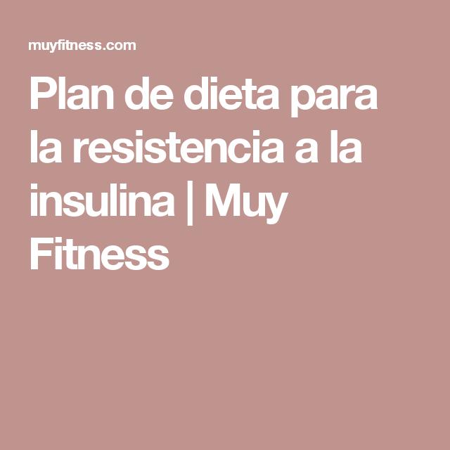 Dieta para la hiperinsulinemia