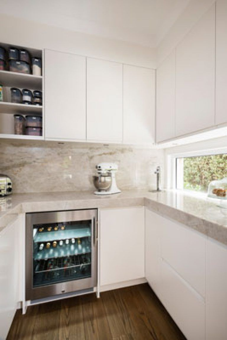 Small Kitchen Pantry Design Walk In