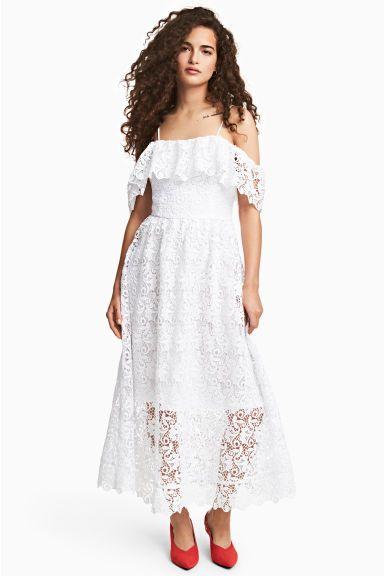 075c7458 Sukienka z odkrytymi ramionami | Dress | Sukienka i Falbany