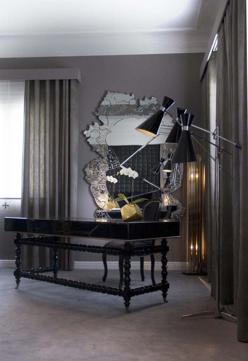 Moderne luxus büro  Luxus und moderne Büros Einrichtungsideen für maximale Inspiration ...