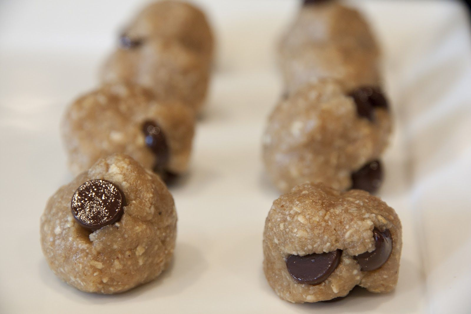 Sugar free, Gluten free, dairy free, cookie dough bites.. Must try.. practically pure nuts! YUM!