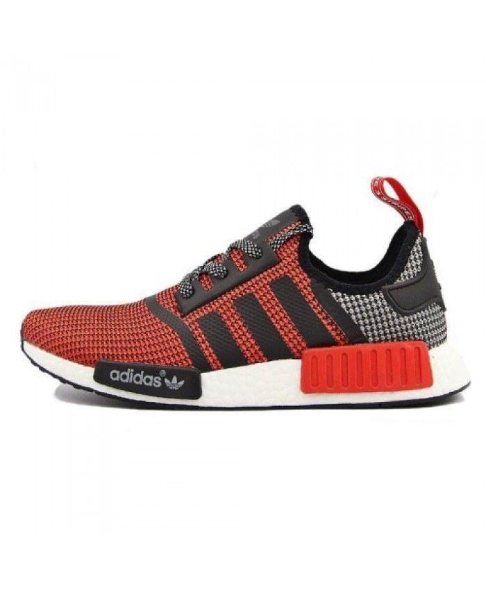 adidas Originals NMD RUNNER Trainers lush red core black