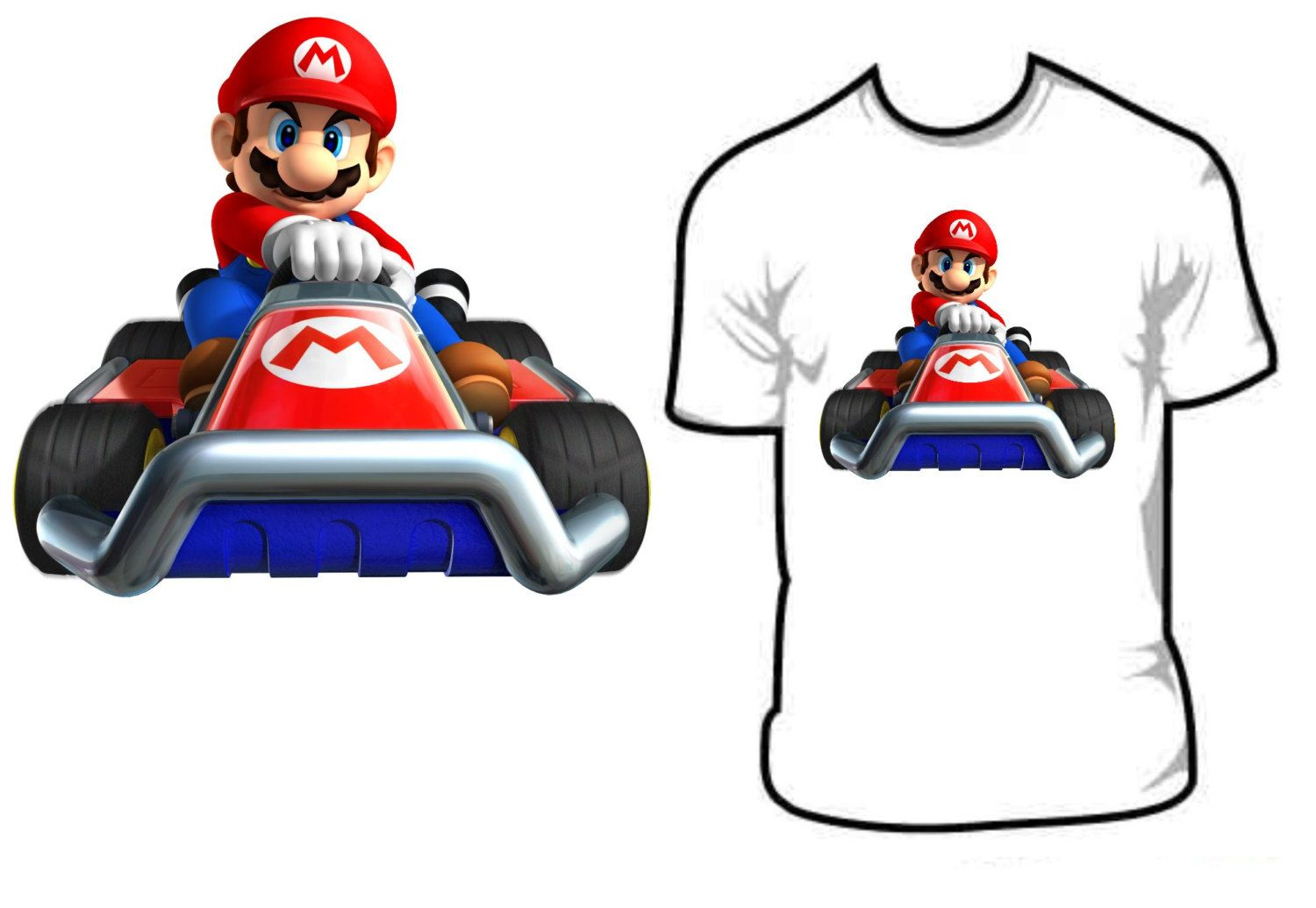 Mario kart 8 for sale - Mario Kart 8 Kids T Shirt Many Sizes By Cantinahusk On Etsy