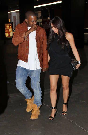 Kanye West Kim Kardashian From The Big Picture Today S Hot Photos Kim Kardashian Outfits Kanye West And Kim Kim Kardashian Style