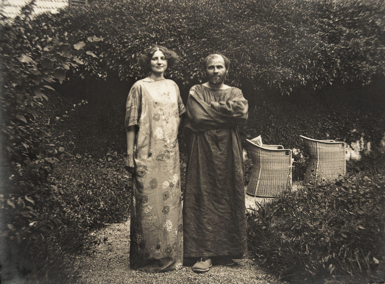 Gustav Klimt & Emilie Louise Flöge