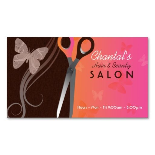 Hair And Beauty Salon Business Cards Zazzle Com In 2021 Beauty Salon Business Cards Salon Business Cards Beauty Business Cards