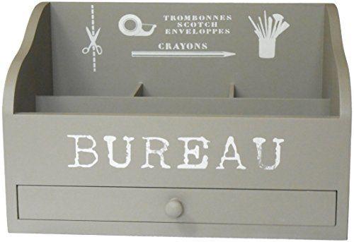 French Grey Desk Tidy. Mini Bureau Sylvester Oxford Ltd http://www.amazon.co.uk/dp/B00LOAF456/ref=cm_sw_r_pi_dp_g86Tub1PV9AXK