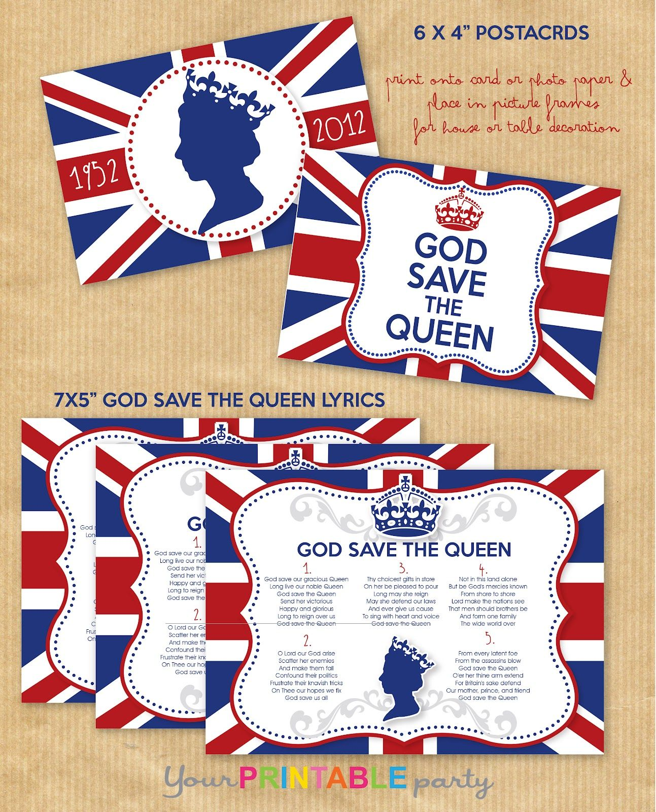 Your Printable Party: Jubilee Party FREE Printables