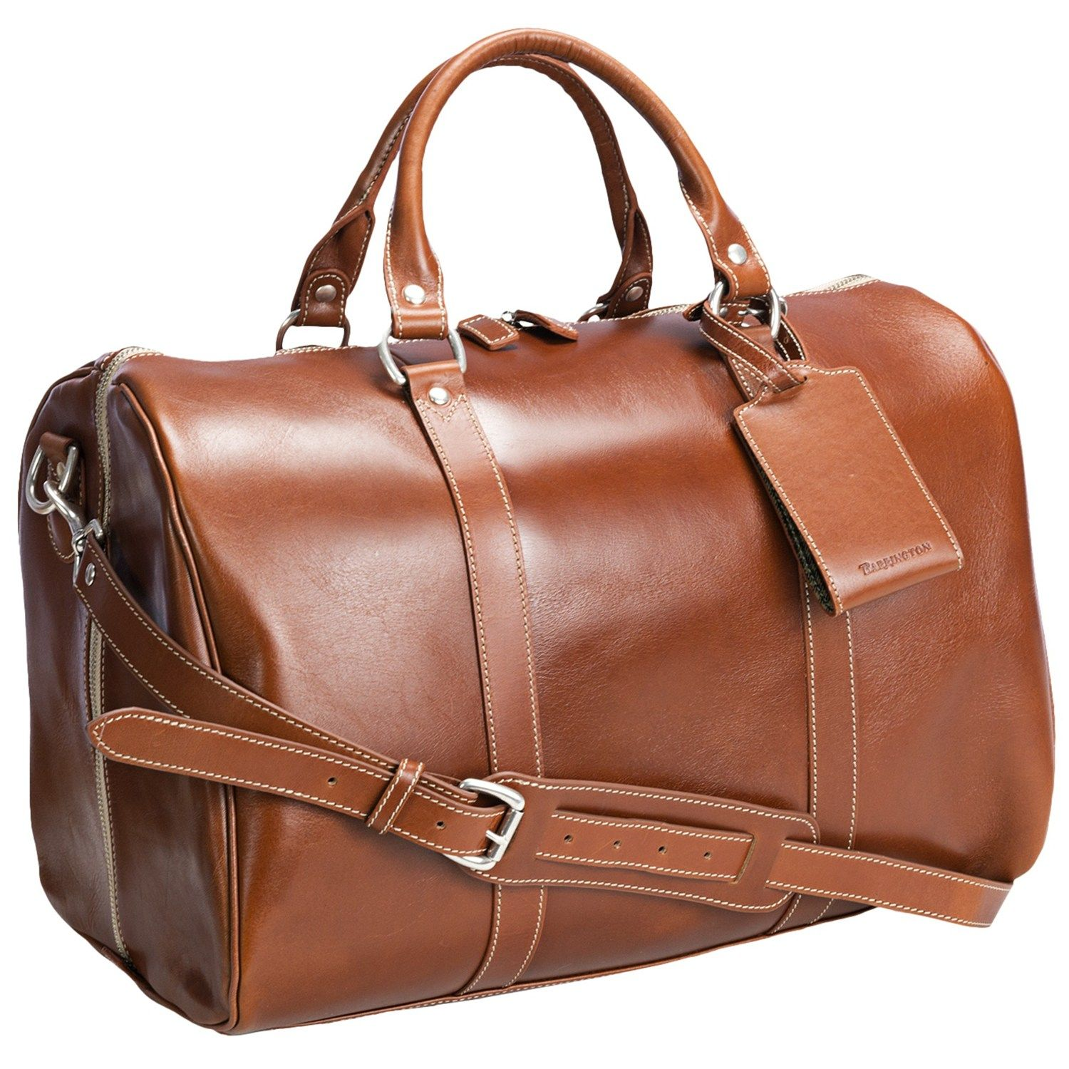 Barrington Leather Jr. Compton Weekend Bag - Retail 1250. Sale ...
