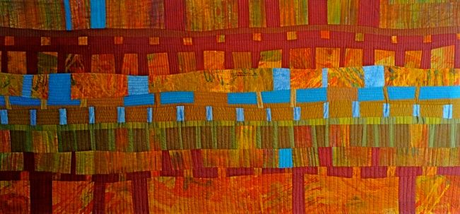 """Karen Farmer: A Sense Of Place  w 64"""" x h 29 1/2"""" (162.5x75 cm)"""